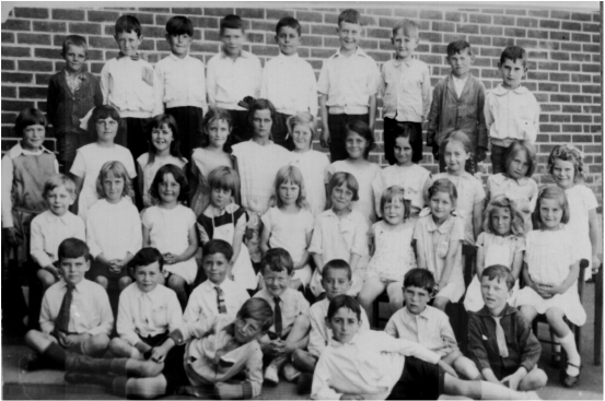 Blackwood Primary School Class of 1931