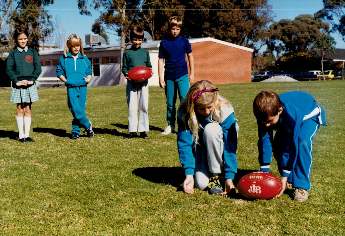 Aussie Rules Football Circa 1980s