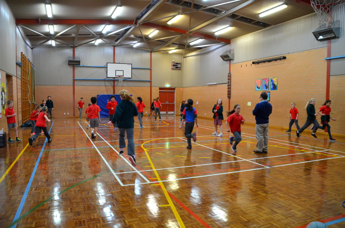 Indoor Activities in Ashby Hall.